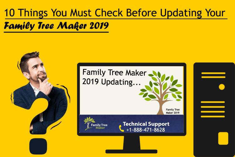 Family Tree Maker 2019