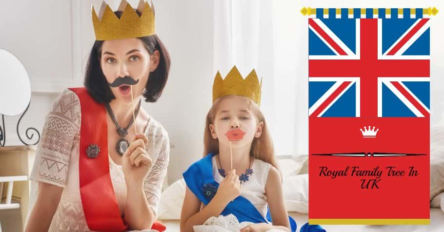 Royal Family Tree In UK