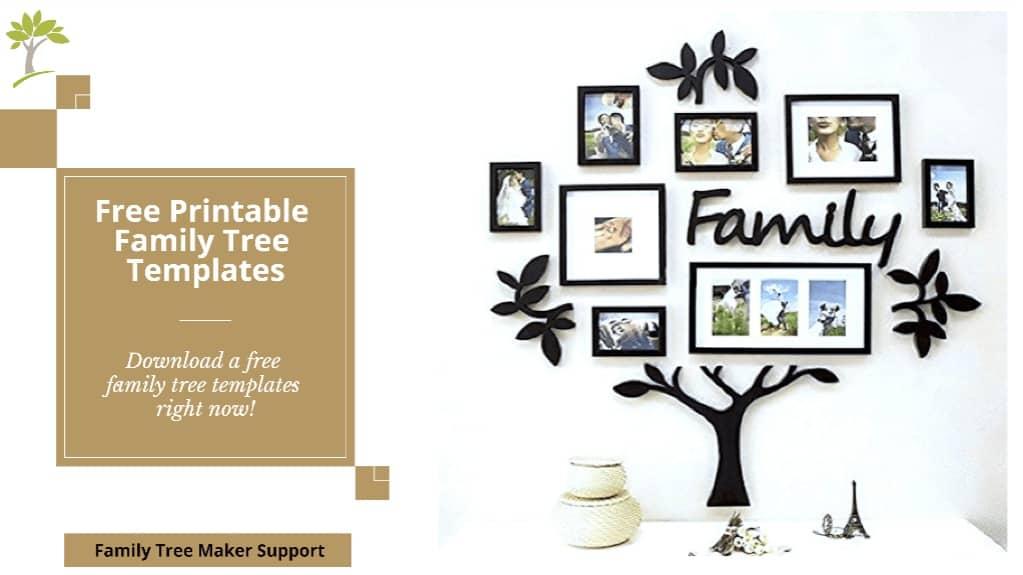 Free Printable Family Tree Templates