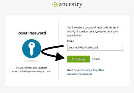 Ancestry Login Support