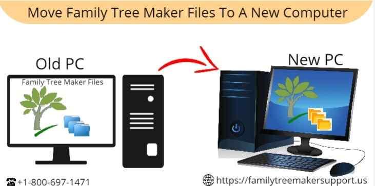 move family tree maker files