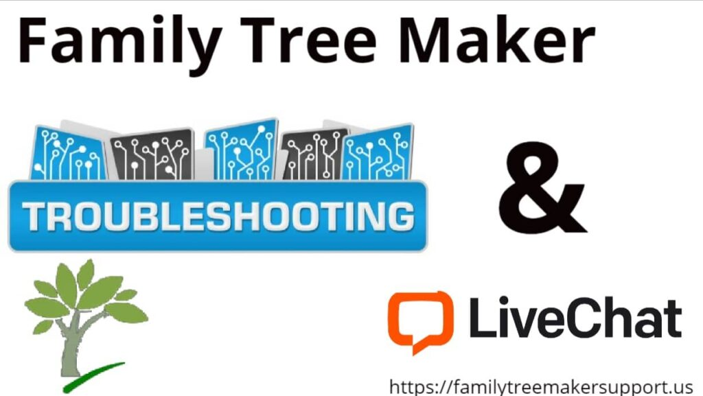 family tree maker troubleshooting
