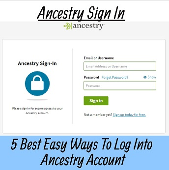 ancestry sign in