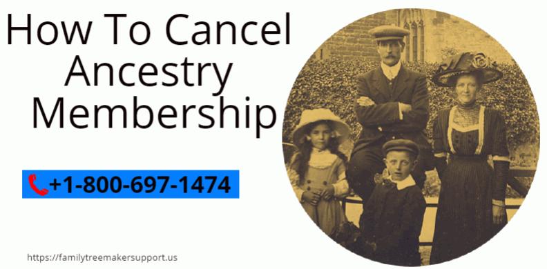 cancel ancestry membership