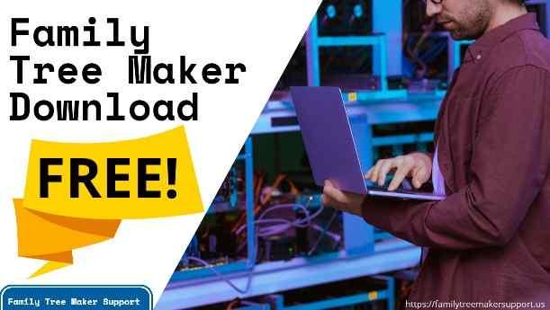 family tree maker download