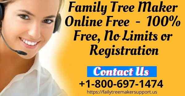 family tree maker online free