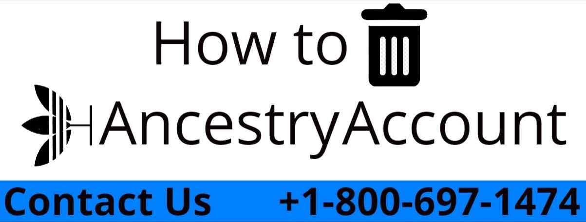 delete ancestry account