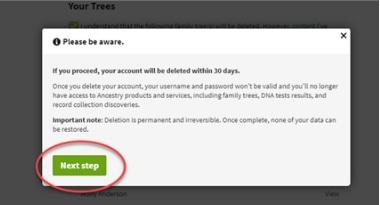 delete trees